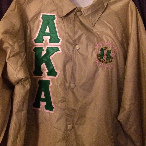 4780393de Jackets & Coats | Brand New Alpha Kappa Alpha Sorority Jacket | Poshmark